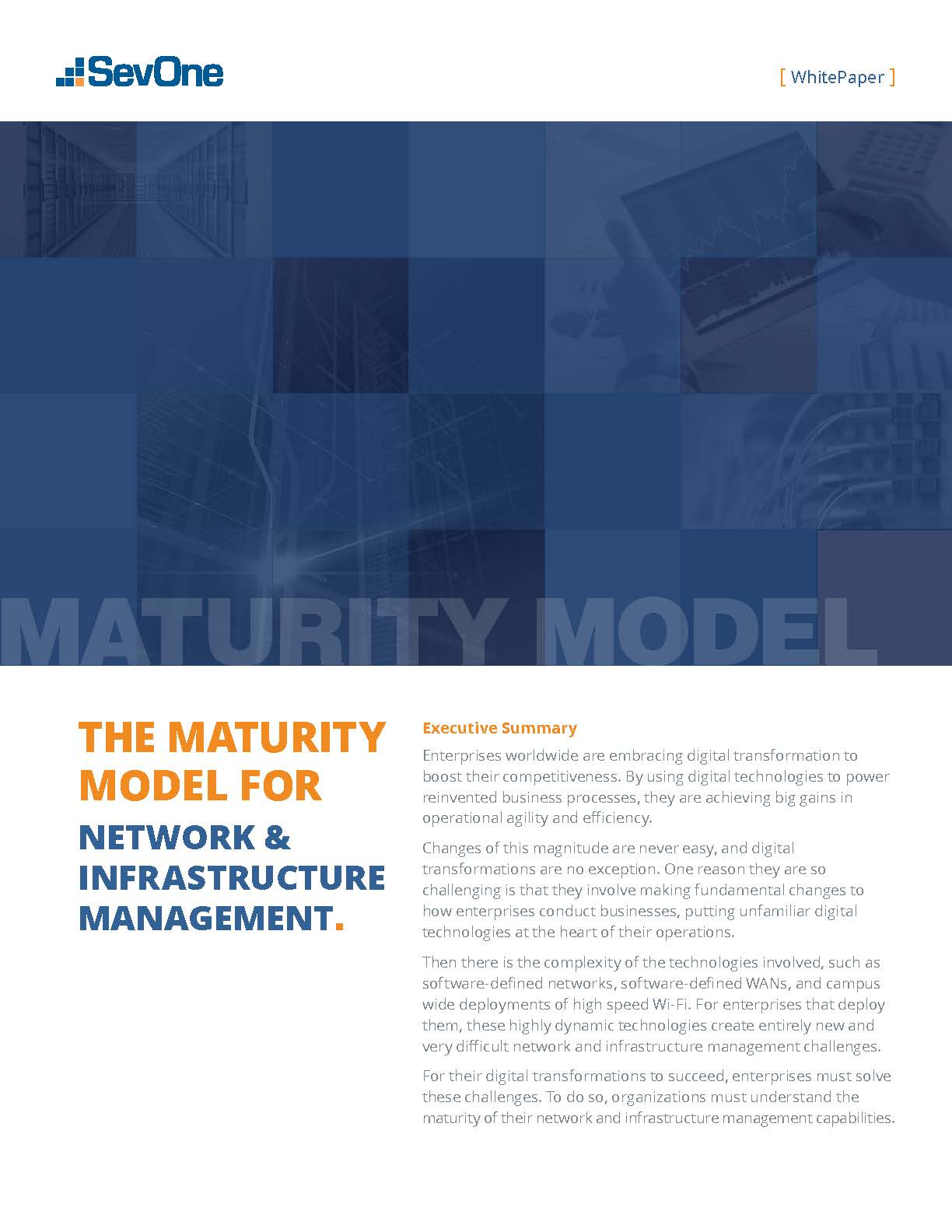 Maturity Model Cover Image